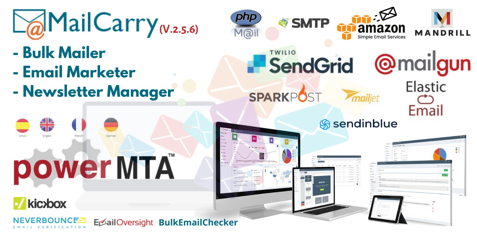 MailCarry - Email Marketing Software