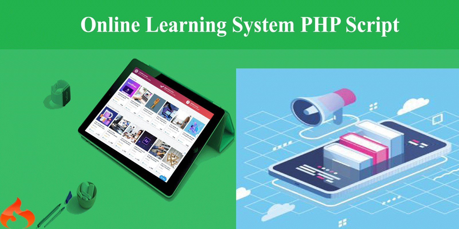 Online Learning System PHP Script