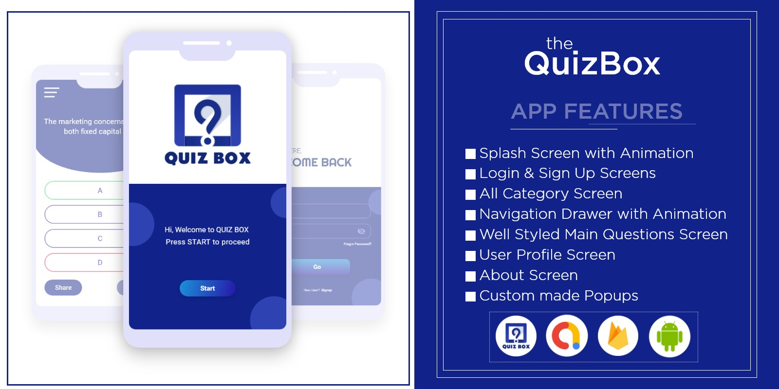 The QuizBox - Android App Template