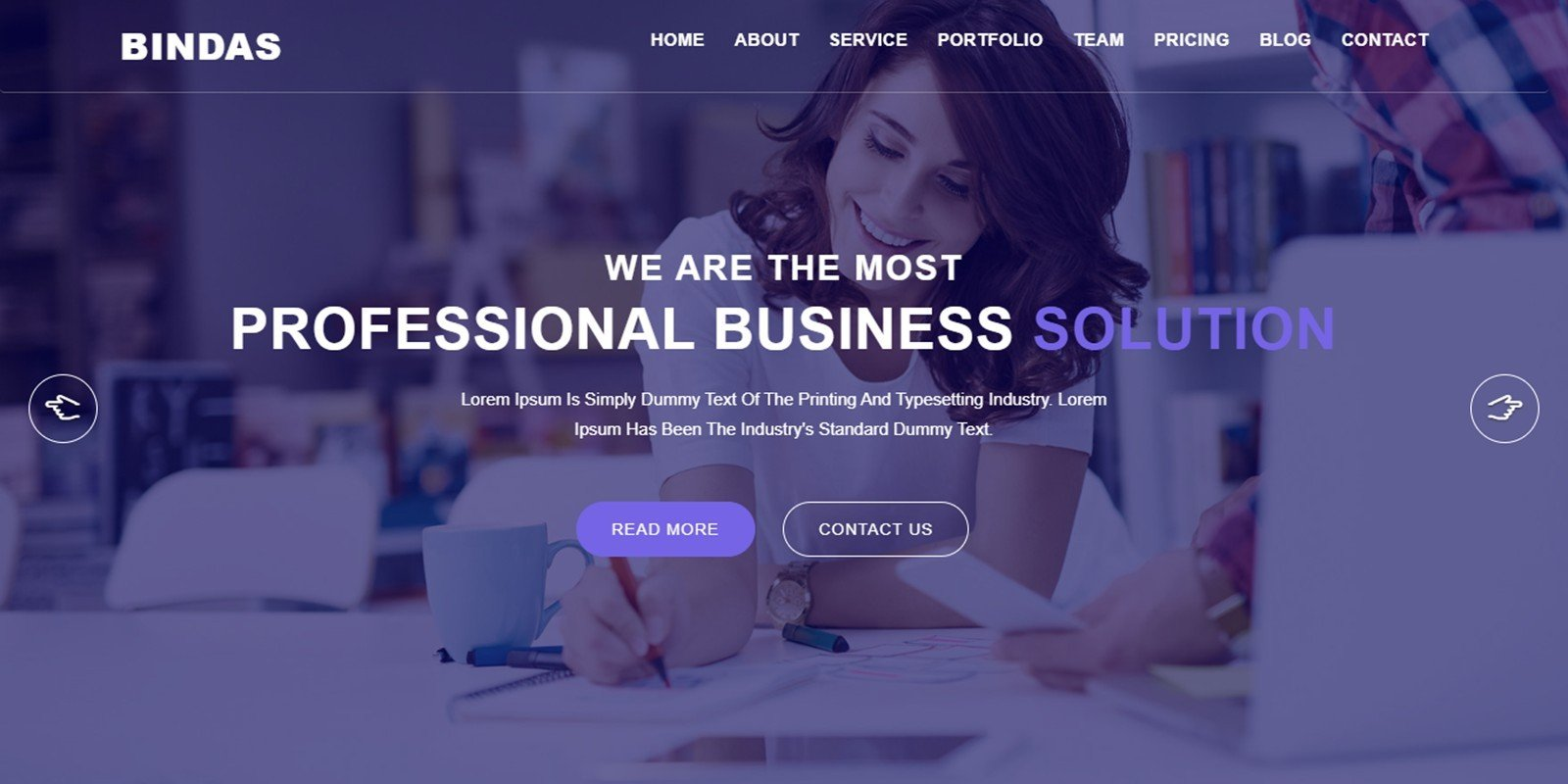 [Themes] Bindas Consulting And Business HTML5 Template