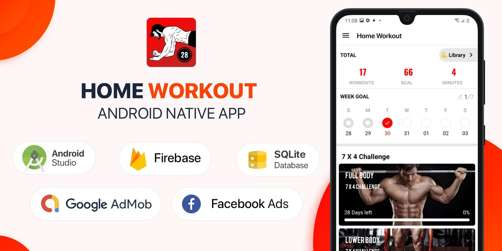 Home Workout - Android App Source Code