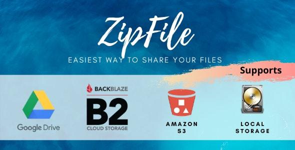 ZipFile v2.6 - File sharing made easy & profitable