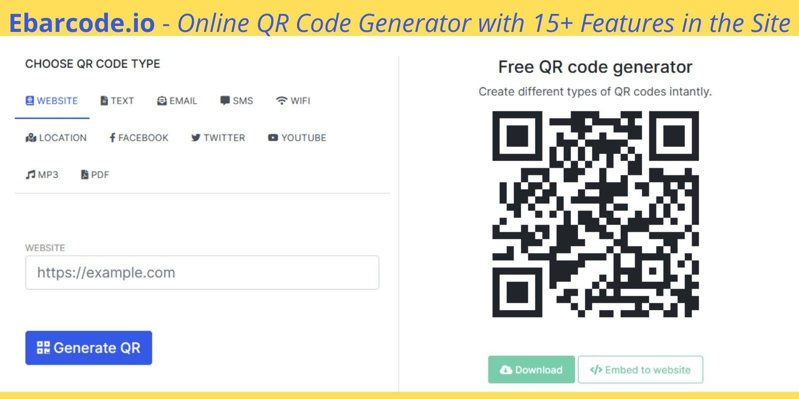 QR Code Generator Script