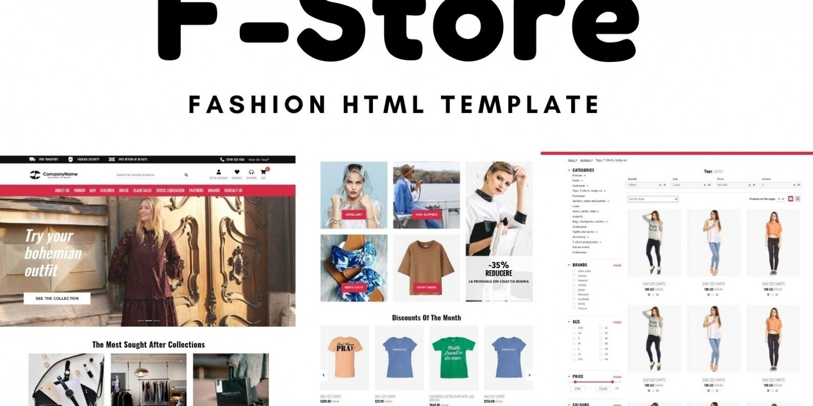 [Themes] F-Store HTML Template